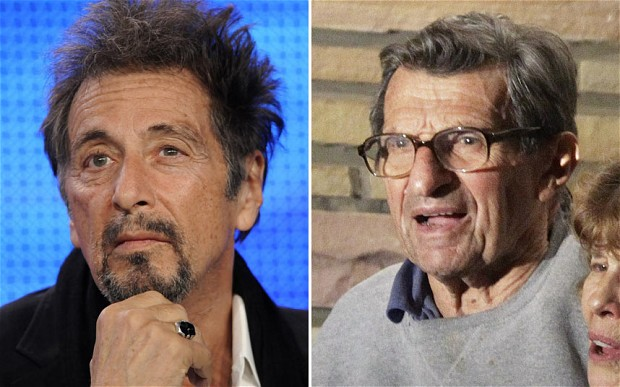 Al Pacino (Left), Joe Paterno (Right)