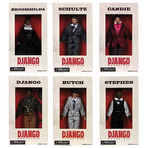 Django Unchained Dolls