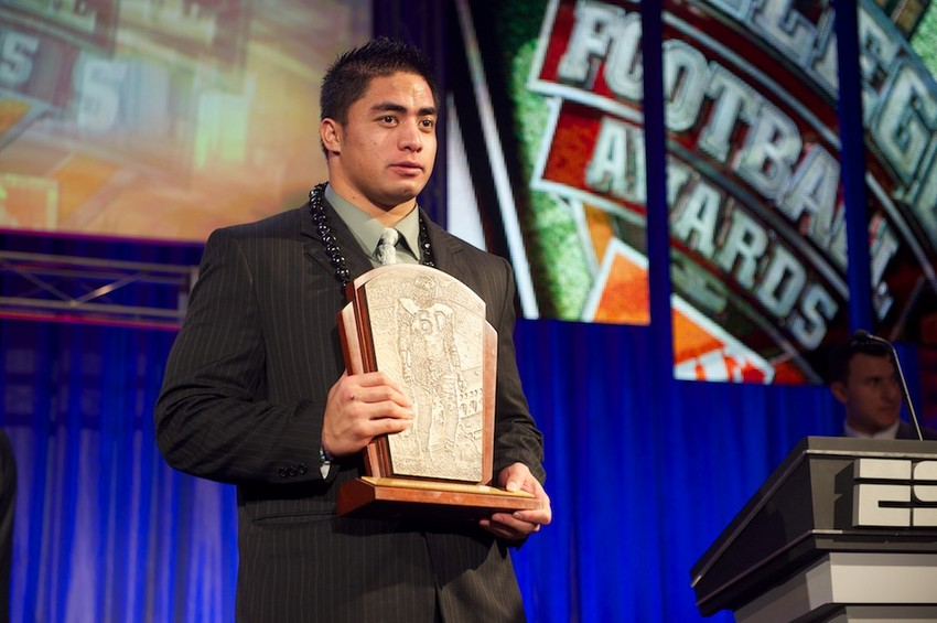 Manti Te'o - Home Depot College Football Awards - December 6, 2012